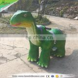 2016 NEW Mechanical interactive dinosaur coin operated kiddie rides animatronic zoo animal scooter