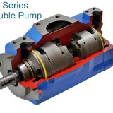 4535VQ Double Hydraulic Rotary Vane Pump from Ningbo Vicks