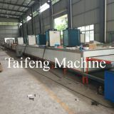 Automatic soft tile production line making machine