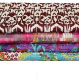 paisley print petchwork quilt indian cotton quilt reversible wholesale price best selling in australia