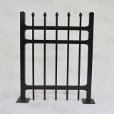 spear top Steel tube Iron Fence tubular fence
