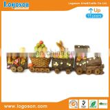 Individual Souvenir Mini Trains and Animal Custom Polyresin Fridge Magnet