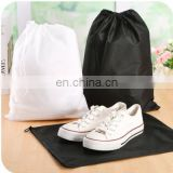 Cheap Drawstring promotional customized nonwoven shoes bag eco-friendly portable Dust bag buggy bag