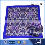 customized scarf printed silk scarf