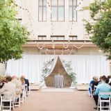 Organza wedding ceiling drape fabric & Wedding backdrop