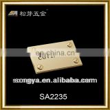 SongA high quality and hot sale metal lable