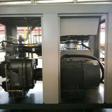 Two stage compression PM motor VSD compressor