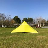 2 Man Tent Pyramid Ultralight Waterproof Outside Lightweight Tents