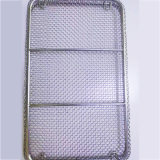 Custom Square Round Edge Flat Mesh Basket