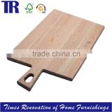 Oak Square Cutting board,Solid Wood Cutting Board,Natural Wood Bread Board