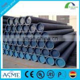 24 inch steel pipe black welded tube manufacturer