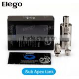 Elego wholesale Innokin iSub Apex Tank 3ml 0.2/0.5/2.0 ohm Fit for Coolfire 4 VS Subtank Mini Bell Cap