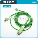 Micro USB To VGA Audio MHL HD Adapter With Audio Cable MHL To VGA Adapter Converter For Mobile Phone
