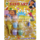 Nontoxic DIY Sand Art Painting for Kids