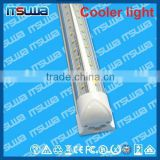 v shape LED tube light 48in, direct replacement, Inventory Liquidation, walking cooler light