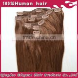 Fast selling cheap products wholesale unprocessed full cuticle dark auburn hair extensions