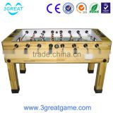 Amusement table wooden mini soccer football game