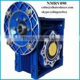 NMRV090 aluminium speed reducer, packing machinery gearbox,packing machinery spare parts