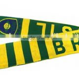 100% polyester satin printing world cup sports team knitted football scarf                                                                         Quality Choice