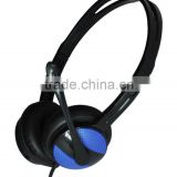 Noise canceling microphone to reduce background noise Headband USB headset,voip headphone,intercom earphone