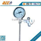 WSS-411P Manufacture steel hot water temperature gauge for industrial use