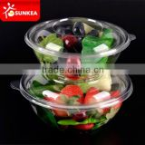 Disposable plastic fast food packaging container                                                                         Quality Choice