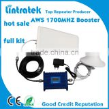 with LCD signal screen AWS 1700mhz mobile signal booster/phone repeater /signal amplifier
