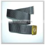 57mm wide black nylon army belt, army utility belt
