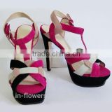 New Design Ladies Summer High Heel Sandals