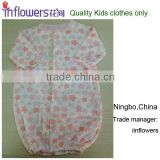 Wholesale 100% cotton good quality Baby girls organic clothing set boutique /alibaba baby clothing