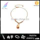 women jewelry popular design adjustable fashion animal anklet with charm                                                                         Quality Choice