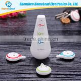 Wireless Car Key Finder Tracker Remote Locator Alarm Whistle Sensor RF Transmitter and 4 Receivers GPS Tracker Keychain