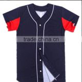 Full Dye Sublimation Women Plain Baseball Jerseys