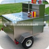 Multi-function Towable Mobile Scooter Food Trailer & Cart for Sale XR-HD120 A