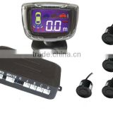 car parking sensor, led display indicator,Parking Sensor with 4 Sensors,Numeral and LCD display