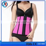 China factory hot zipper waist cincher corset body shaper belt