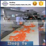 China professional supplier Wholesale Canvas Fruit Rubber Conveyor Belt For Food Industry Use