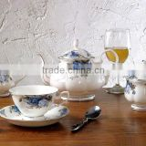 SGS CE/EU CIQ EEC coffee tea pot sugar creamer brands dinner set cup
