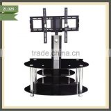 white high gloss white high gloss 3 tier black glass tv stand