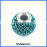 Wholesale Fashion Blue Indonesia Round Clay Bracelet Beads PCB-M100544