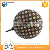 2016Custom Ding Dong Bell,80mm Custom Ding Dong Bell,Water Transfer Wholesale Bicycle Bell