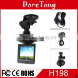 factory manual cheapest 720p hd with 6 IR night vision 90 degree view angle H198 car front view camera