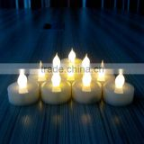 Changing Multicolor Battery Operated Cute Tea Light Led Candle