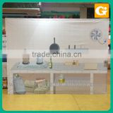 Magnetic Pop Up Display Stand Banner Floor Backdrop Stands