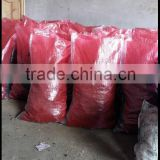 Good quality cheap white printed pp bags for packing charcoal exported to Indonesia