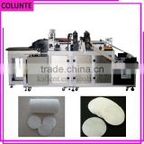 authorized automatic japanese organic cosmetic cotton pads packing machine