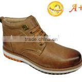 2016 latest new design brown men boots