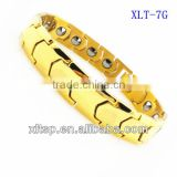 2016 health care blood pressure magnetic bracelet wholesale germanium bio energy titanium bracelet energy bracelet
