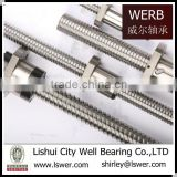 lead screw with trapezoidal thread SFU4005