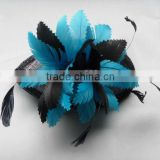 FEATHER HEADBAND BRIDAL WEDDING HAIR ACCESSORIES HEADPIECE FASCINATOR